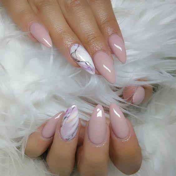 Photo of 52 søte og vakre rosa negler design som ser romantisk og jentete ut