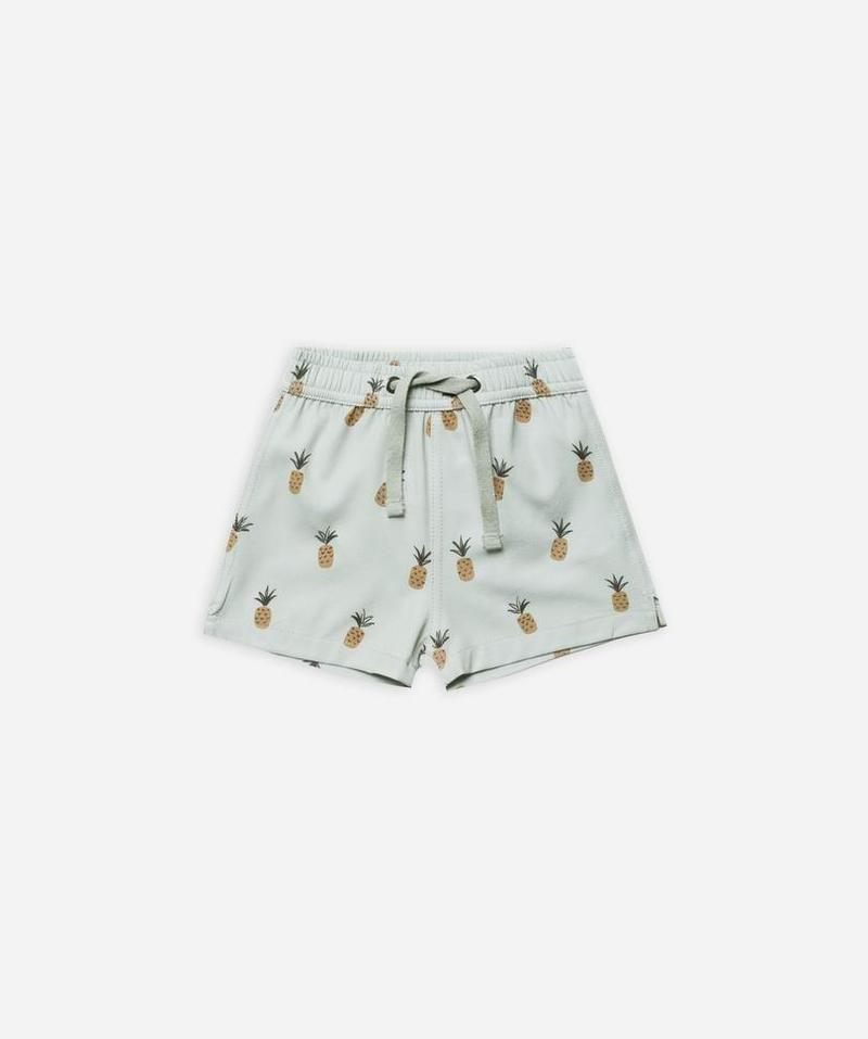 Rylee Cru Swim Shorts Pineapples Boys Swim Shorts Swim Shorts Fashion Design For Kids