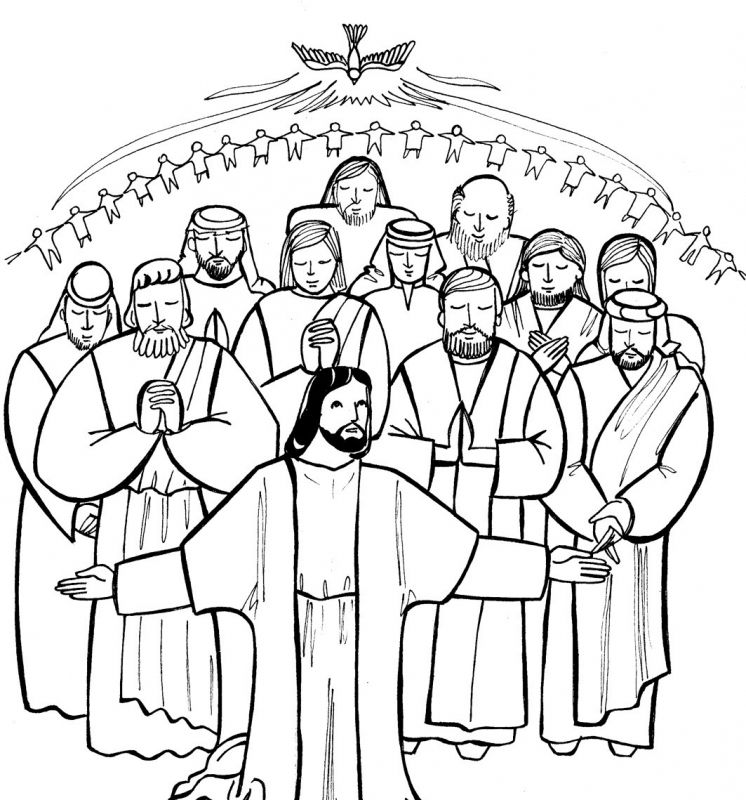 Catholic Saints Coloring Pages Realistic - Worksheet & Coloring Pages