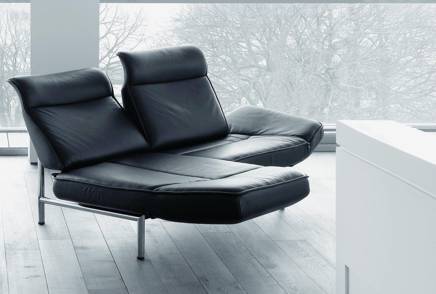 Bretz A113 croissant draaibare fauteuil Midsummer olive