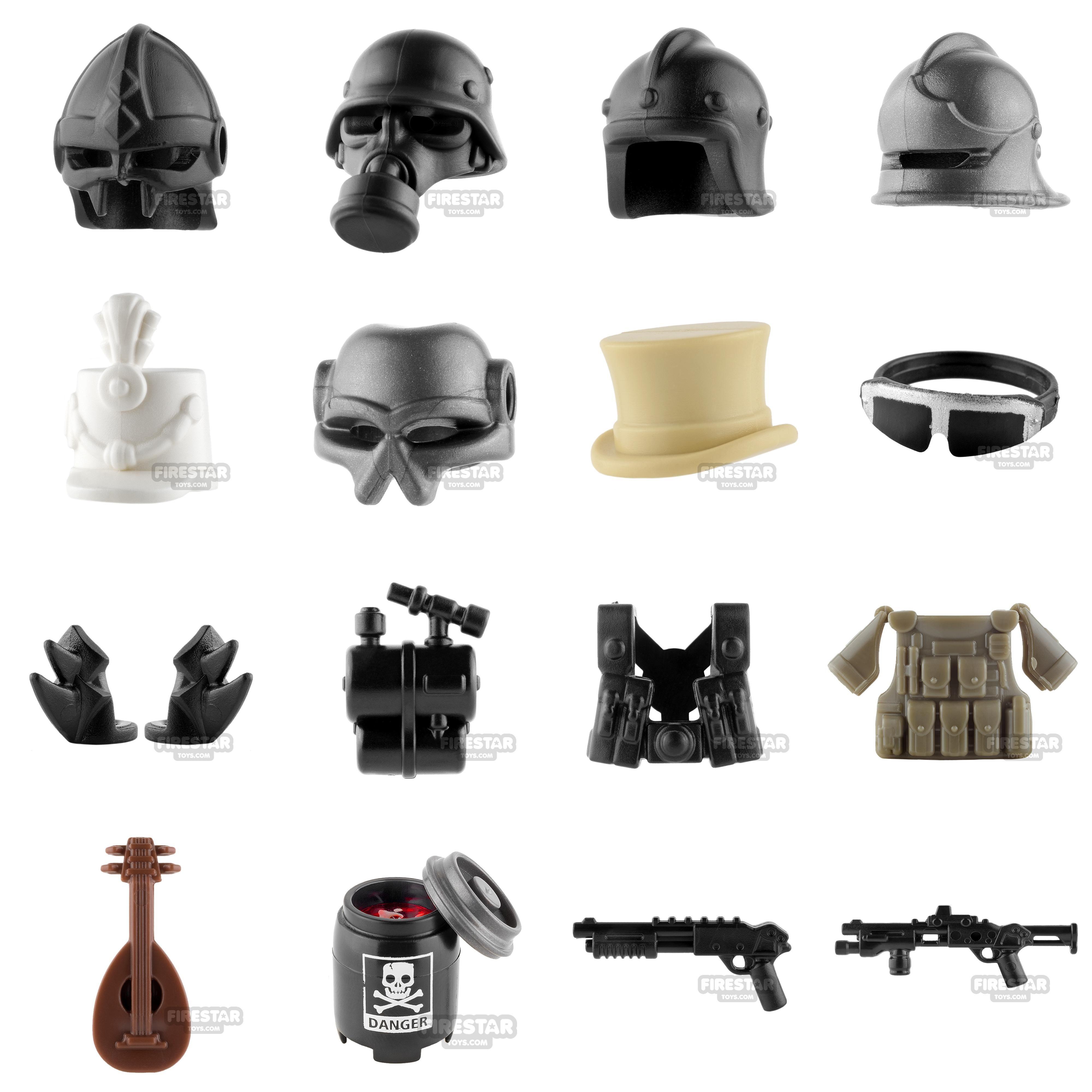 100+ minifigure parts added this week! Some great examples from Si-Dan    Brick Warriors www.firestartoys.com  lego  minifigures  legocustom  moc   legomoc ... 066ef52c7f46