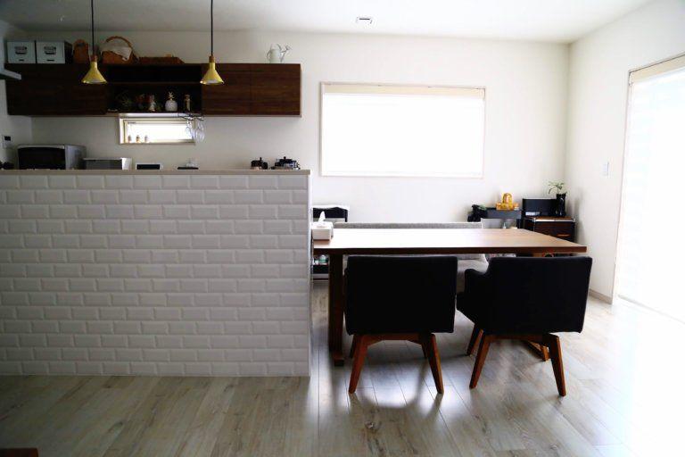 目線検証 キッチン横並びのダイニング 来客からはどこまで見えてる Maco Life しなやかに暮らす家 模様替え リビング キッチン ダイニング