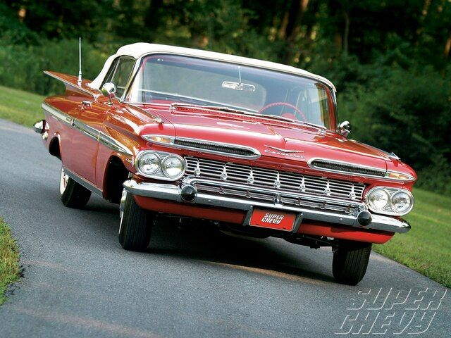 Check out Scott Chalk's practically original 1959 Chevrolet Impala Convertible, …