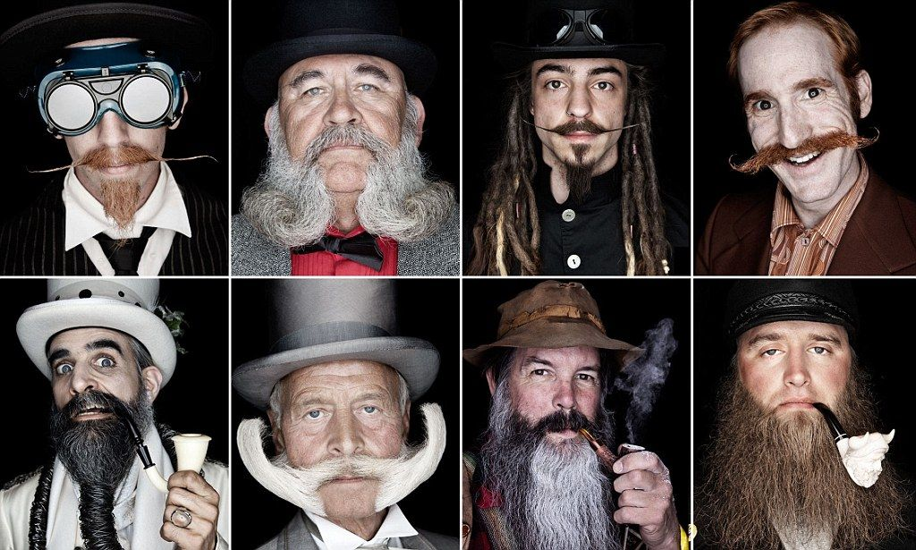 The beard and the wonderful: Photographer captures men with the world's best facial hair for new book