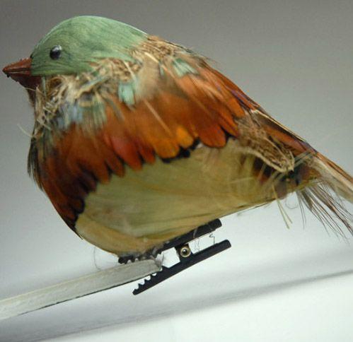 Cute chubby bird decor