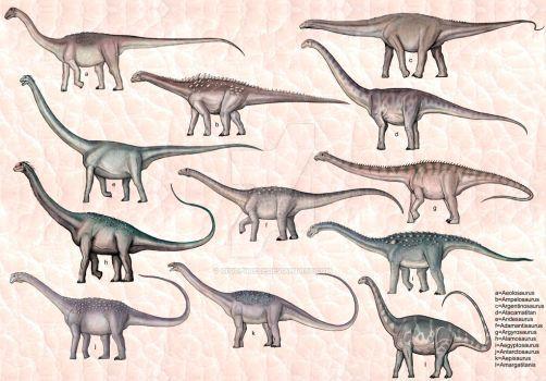 Titanosauria by cisiopurple