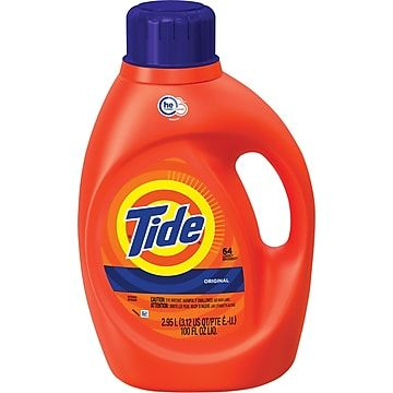 Tide He Turbo Clean Original Detergent Liquid 100 Oz 08886