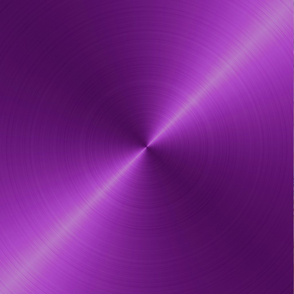 purple brushed metal circular background shiny color