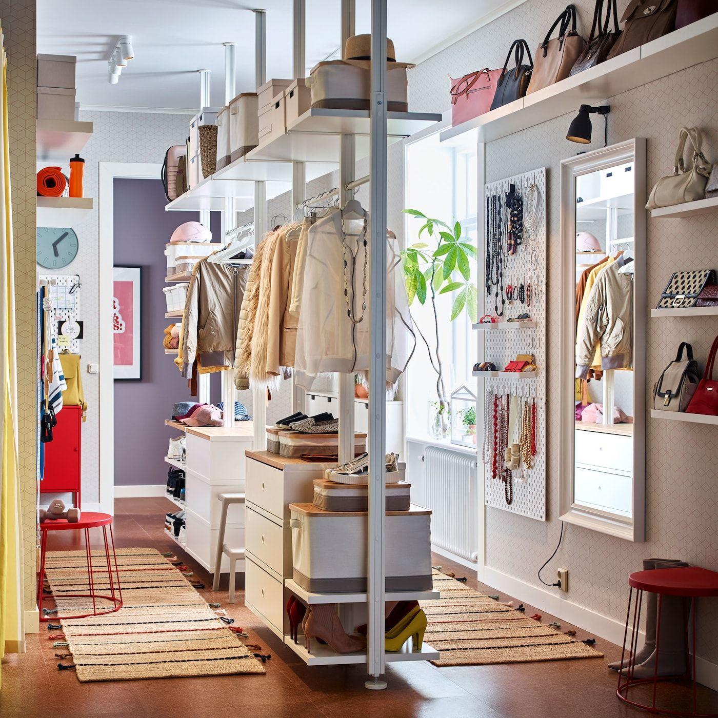 Offener Kleiderschrank für enge Räume   Elvarli, Offener ...