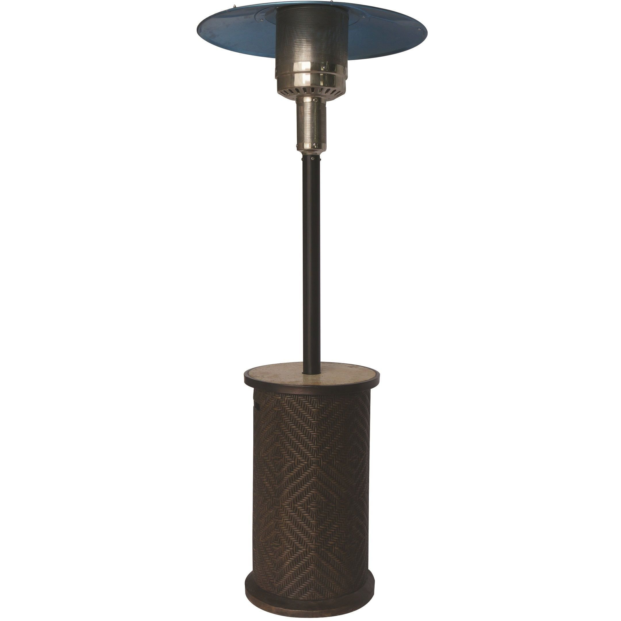 Bond Portofino Patio Heater Silver Steel Stainless Outdoor Décor