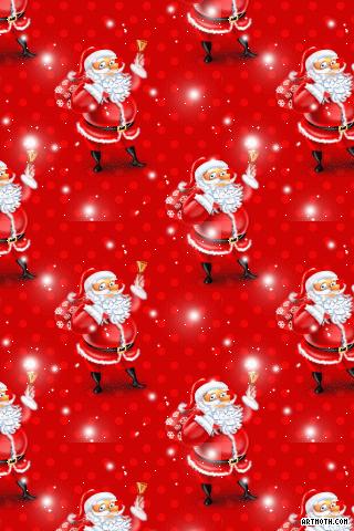 3101 Christmas Santa Iphone Wallpaper Gif 320 480 Christmas Phone Wallpaper Wallpaper Iphone Christmas Iphone Wallpaper