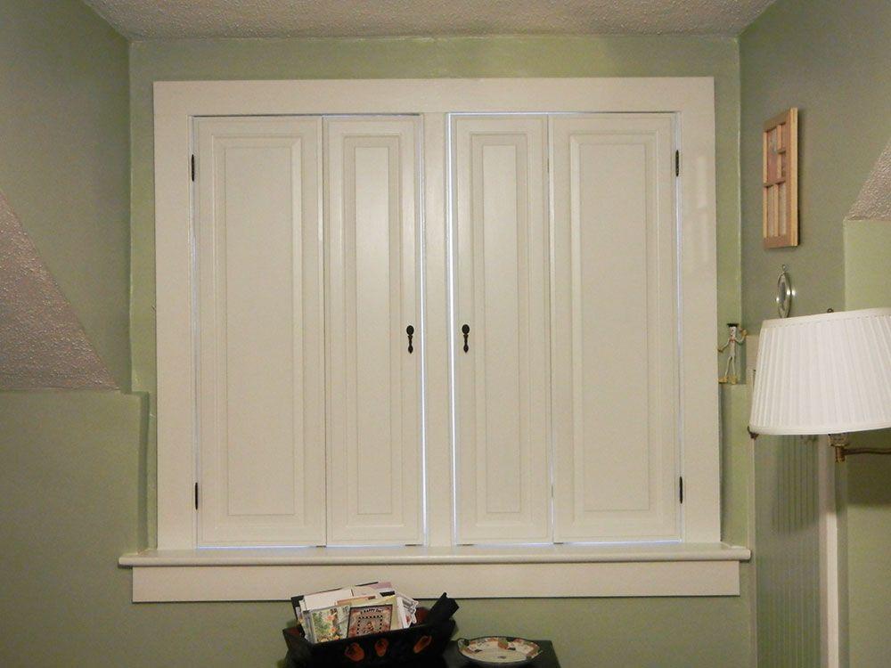 Best diy window shutters windows interior window - Unfinished interior wood shutters ...