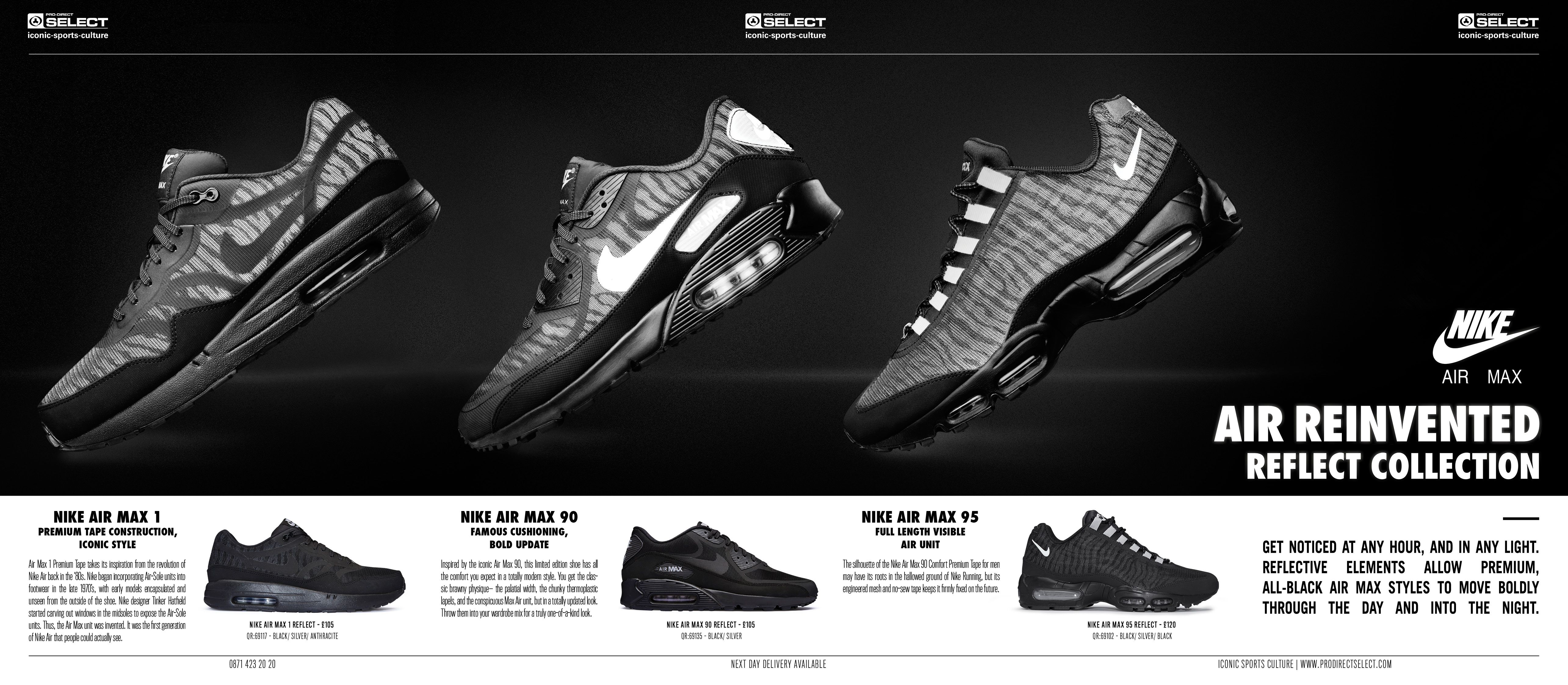 Nike Air Max Reflect Collection http   www.prodirectselect.com articles 7ee14b0d0