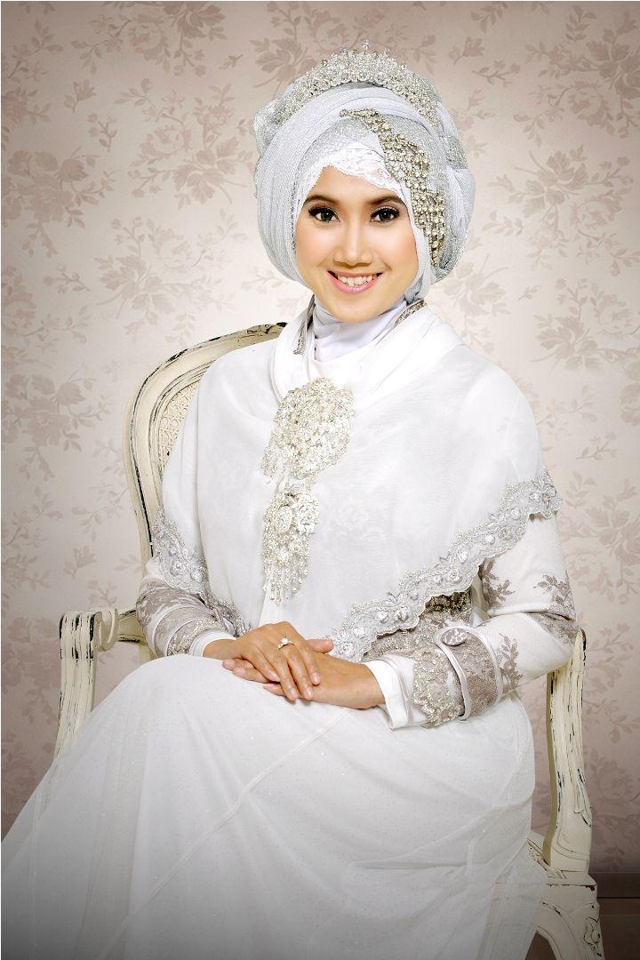 Gambar Desain Baju Pengantin Muslimah Yang Anggun Wedding Idea