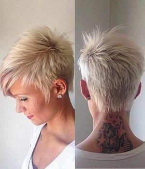 Trendy Pixie Frisuren für Frauen kurze Haare schneidet von She Look Book #shorthaircutsforwomen