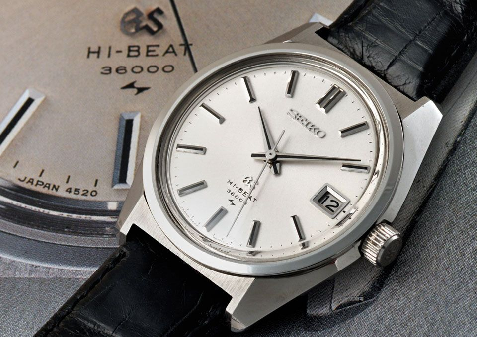 purchase cheap a3756 a7634 Seiko's Affinity to Hi-Beat Movement - Part One   Watches ...