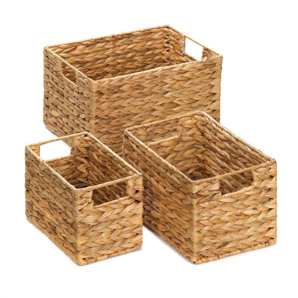 04a72289af64c3f2348ba23de0dde81d - Better Homes And Gardens Woven Storage Bin Brown Durable Construction