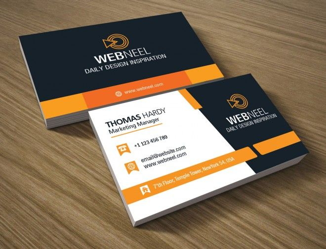 10 professional free business card templates with source files 10 professional free business card templates with source files download psd ai eps fbccfo Choice Image