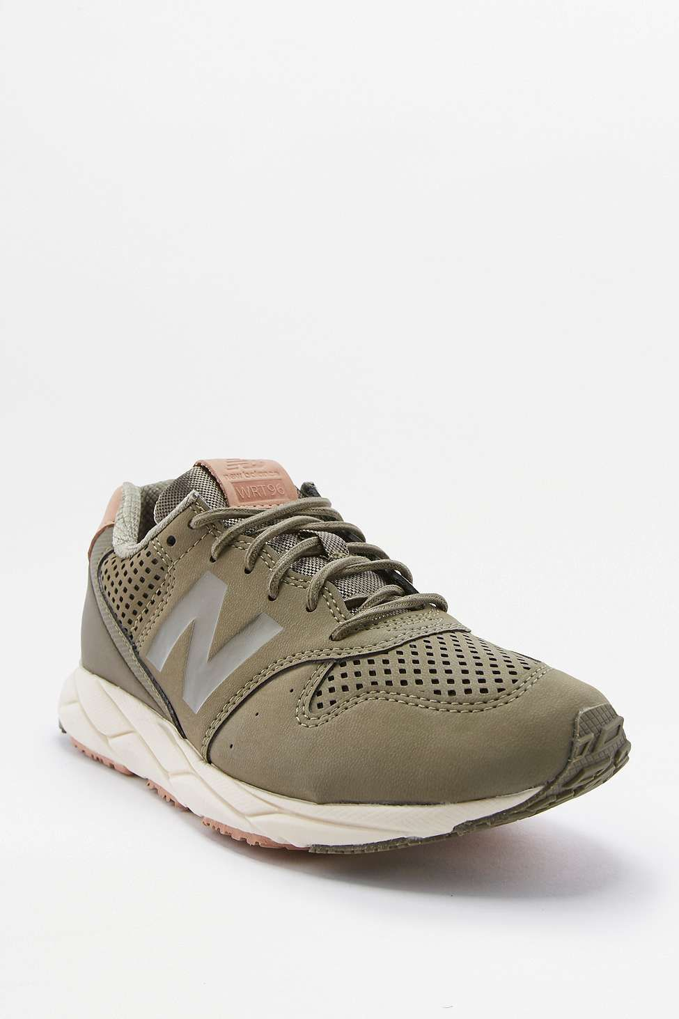 new balance 96 revlite khaki trainers