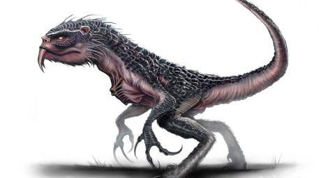 Creature Design - Profile View by Austen Mengler LordNetsua