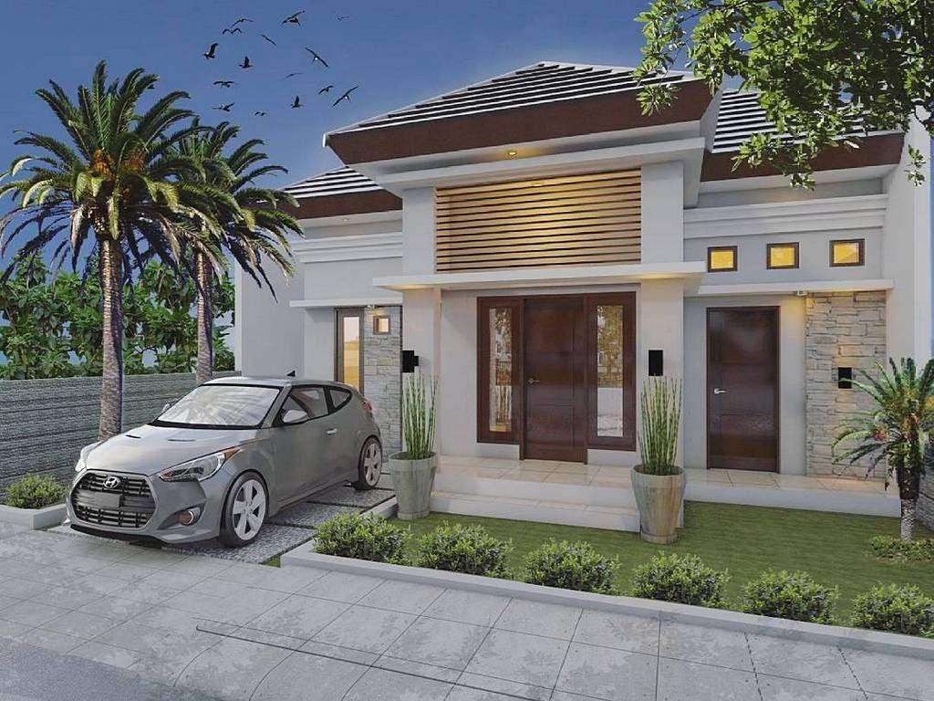 Model Rumah Minimalis Dengan Teras Rumah Dari Batu Alam Desain