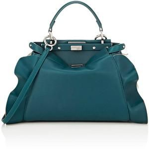 70ae94809a Fendi Wave Medium Peekaboo Teal Blue Bag in 2019 | Bags | Fendi ...