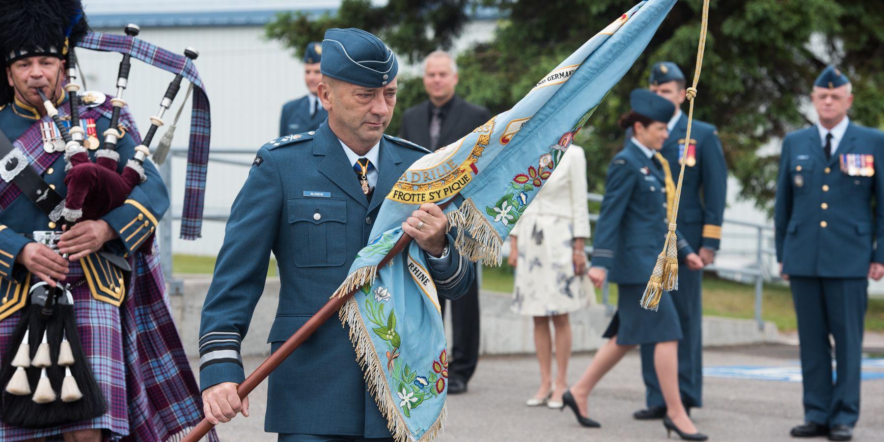 On June 9, 2015, Lieutenant-General Yvan Blondin, commander