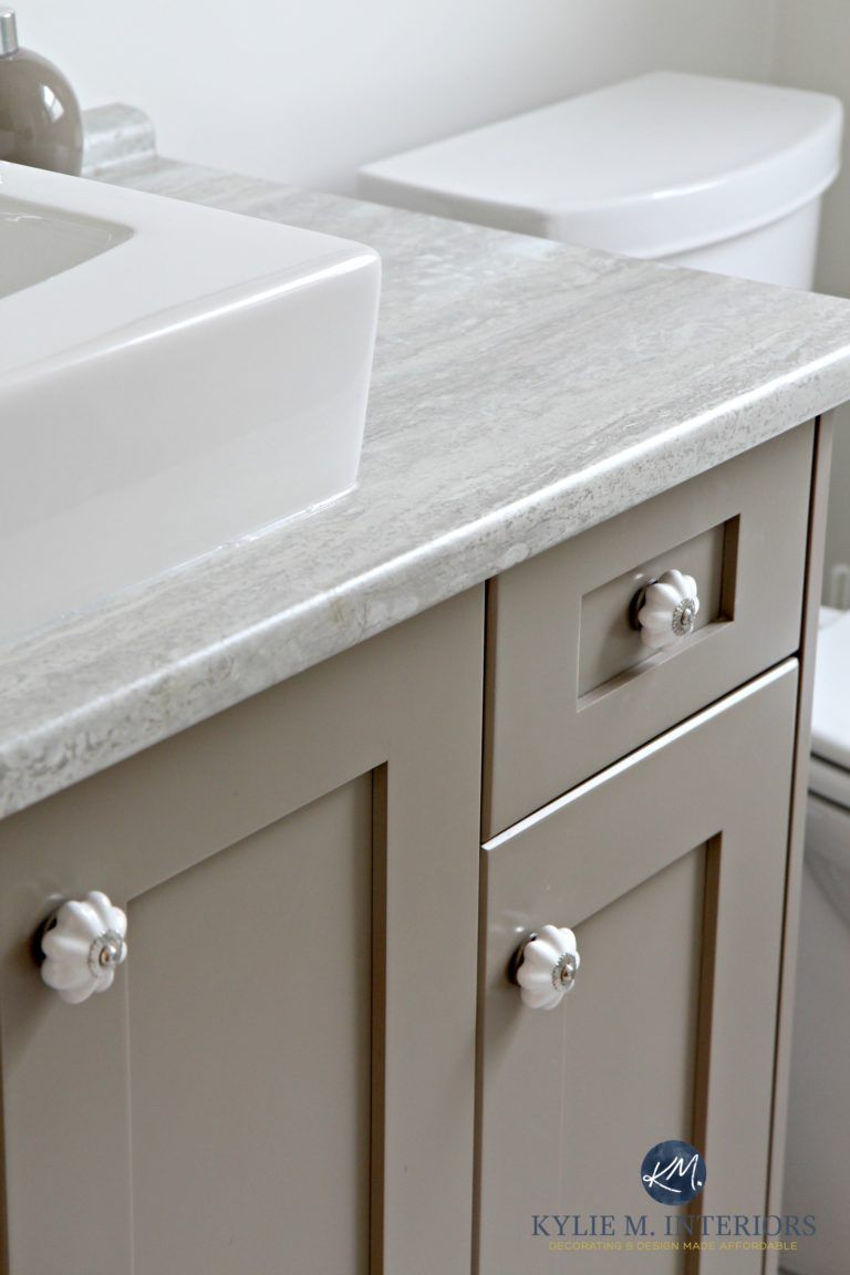 The 3 Best Gray and Greige Colours for Cabinets and Vanities ...