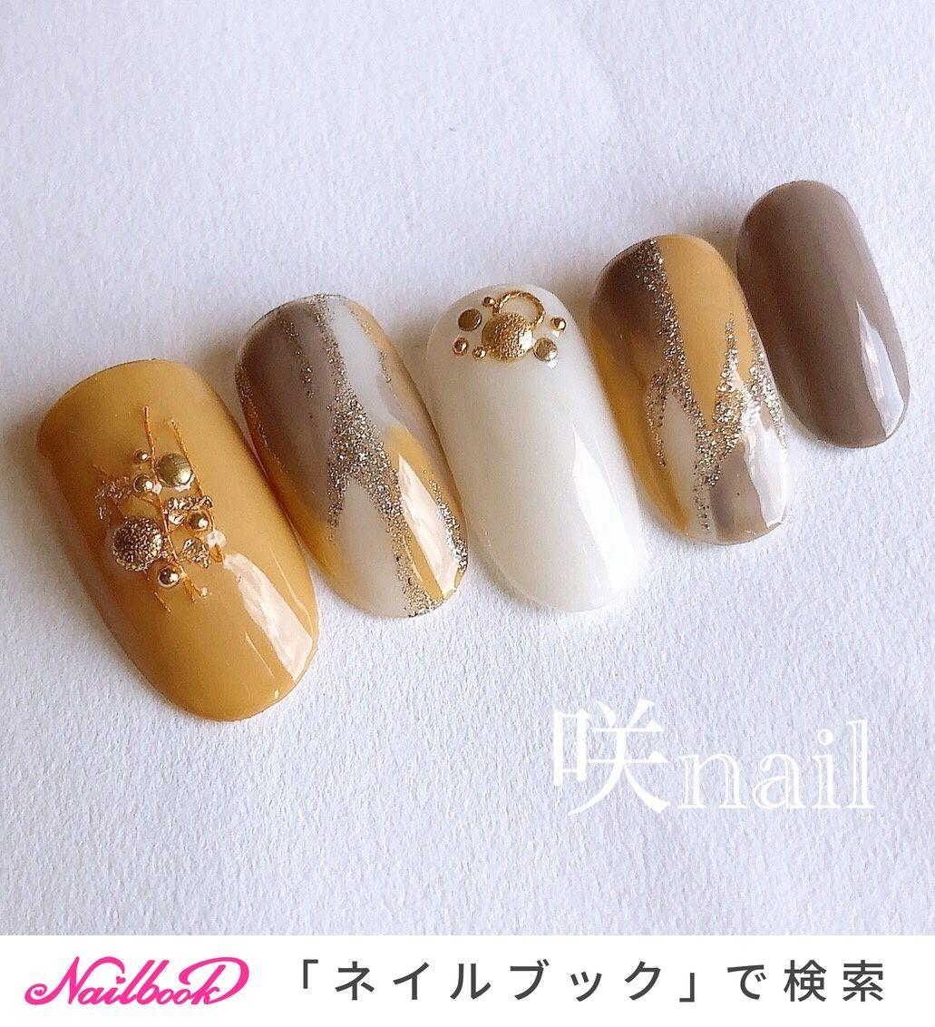 秋/ハロウィン/オフィス/デート/ハンド - 咲nail  【サキネイル】のネイルデザイン[No.4671154]|ネイルブック