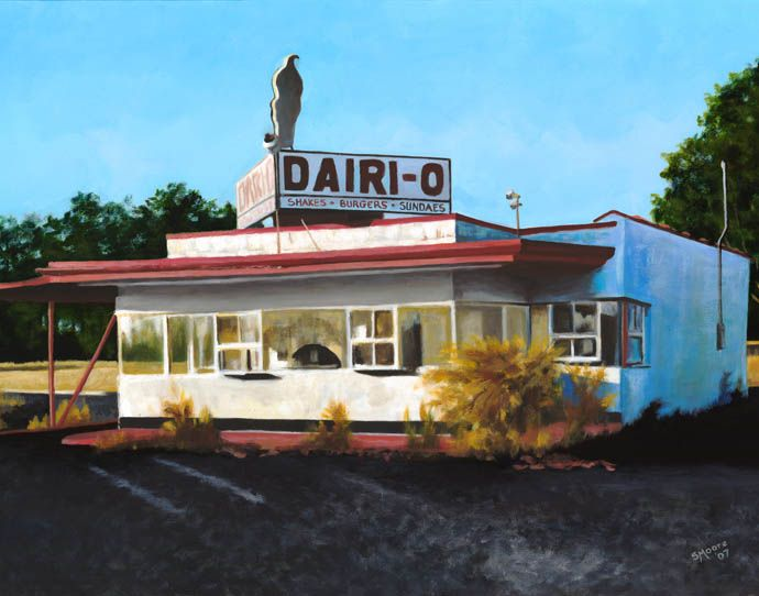 The Old Dairi O In Wallace Nc Had Best Vanilla Es