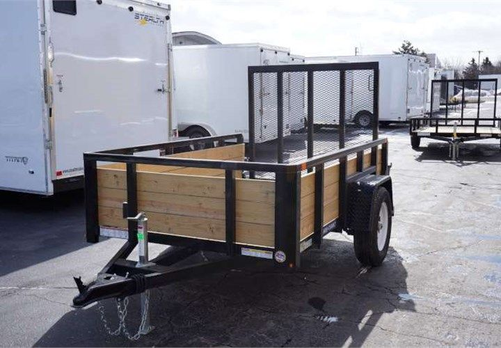 Trailers And Hitches >> This Trailer Was Outfitted With All Led Lights Fold Flat