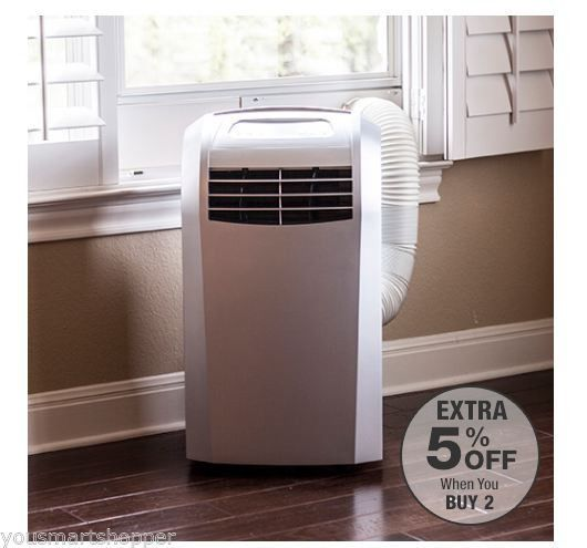 Compact 12000 Btu Portable Air Conditioner Small Cooling Fan Floor