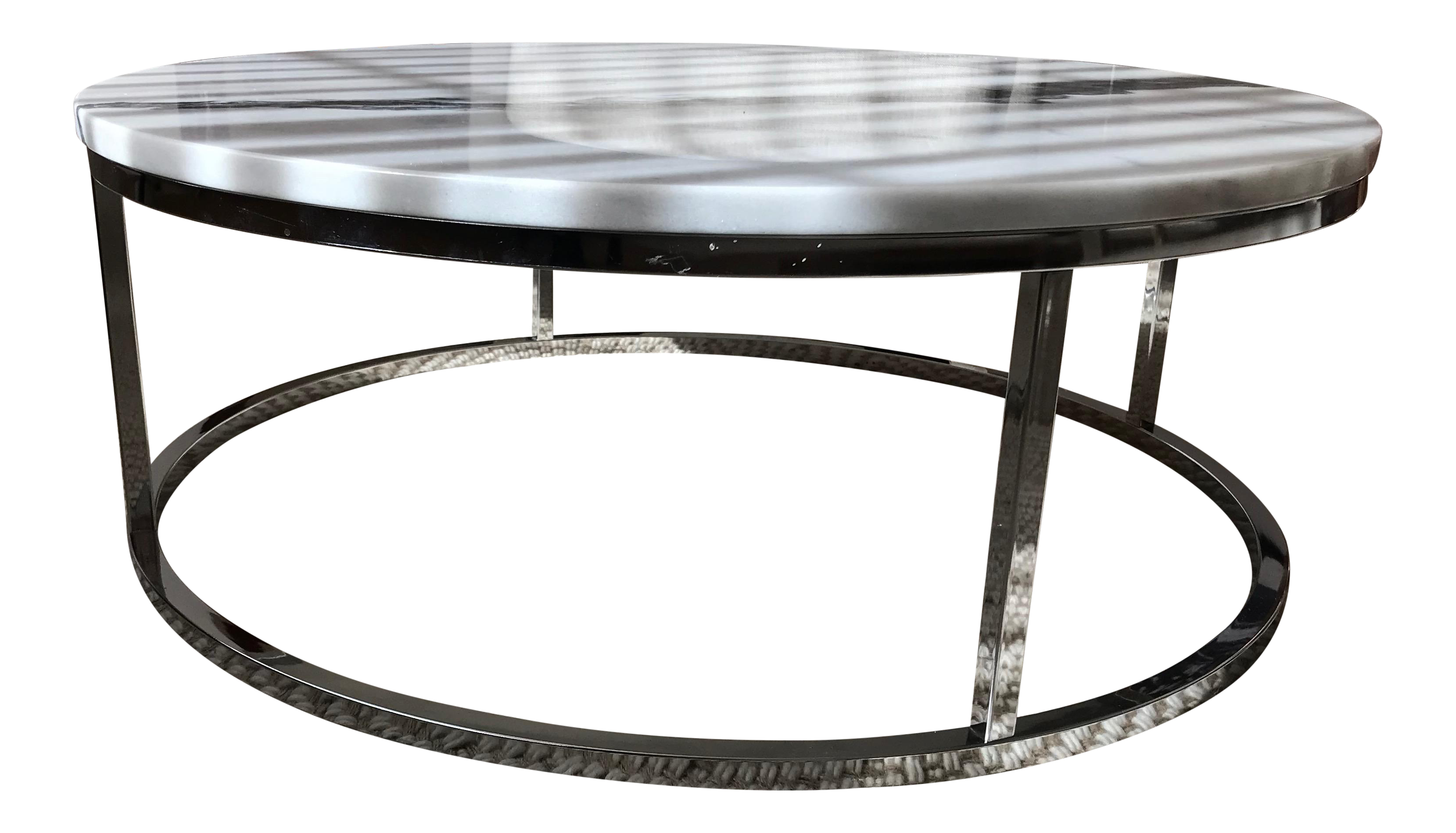 Smart Round Marble Top Coffee Table Https Www Otoseriilan Com Marble Top Coffee Table Coffee Table Contemporary Coffee Table [ 1898 x 3318 Pixel ]