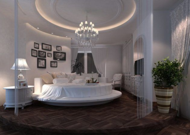 19 Extravagant Round Bed Designs For Your Glamorous Bedroom Glamourous Bedroom Luxurious Bedrooms Round Beds