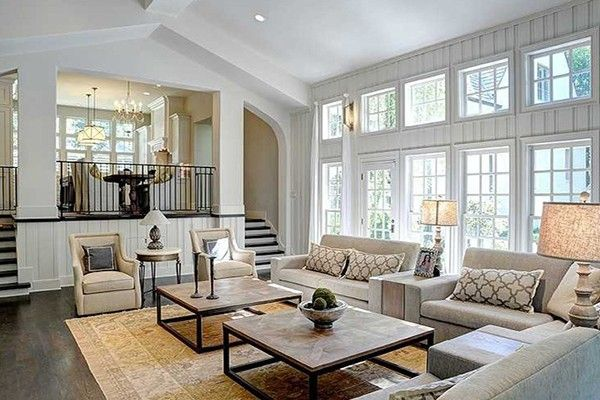 5 ways to cozy up a large living room | living room | pinterest