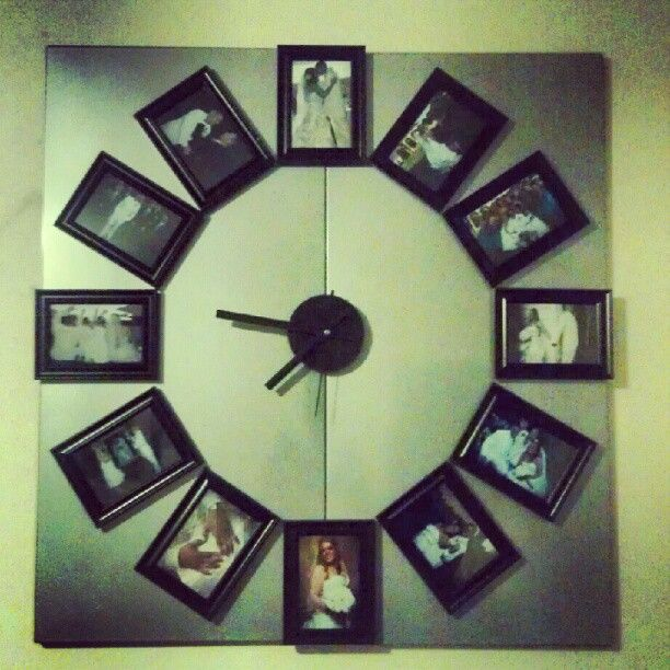 Magnetic Clock Metal Back From Ikea Frames From Dollar Store