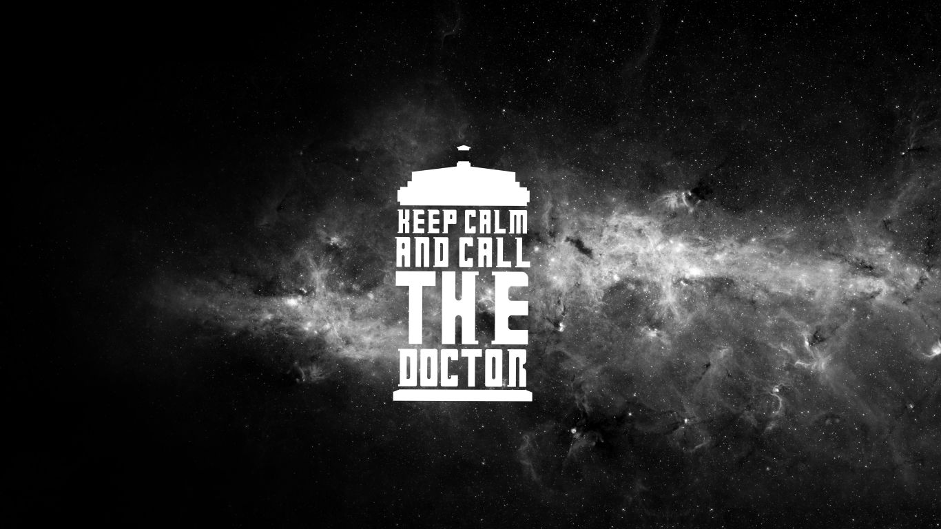 Keep Calm And Call The Doctor Computer Wallpapers Desktop Backgrounds 1366x768 Id 654867 Doctor Who Wallpaper Doctor Wallpaper Computer Wallpapers