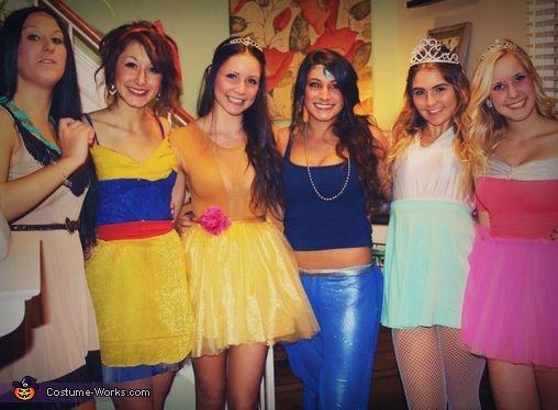 the disney princesses halloween costume contest via costumeworks modest way to do this - Disney Princess Halloween Costumes Diy
