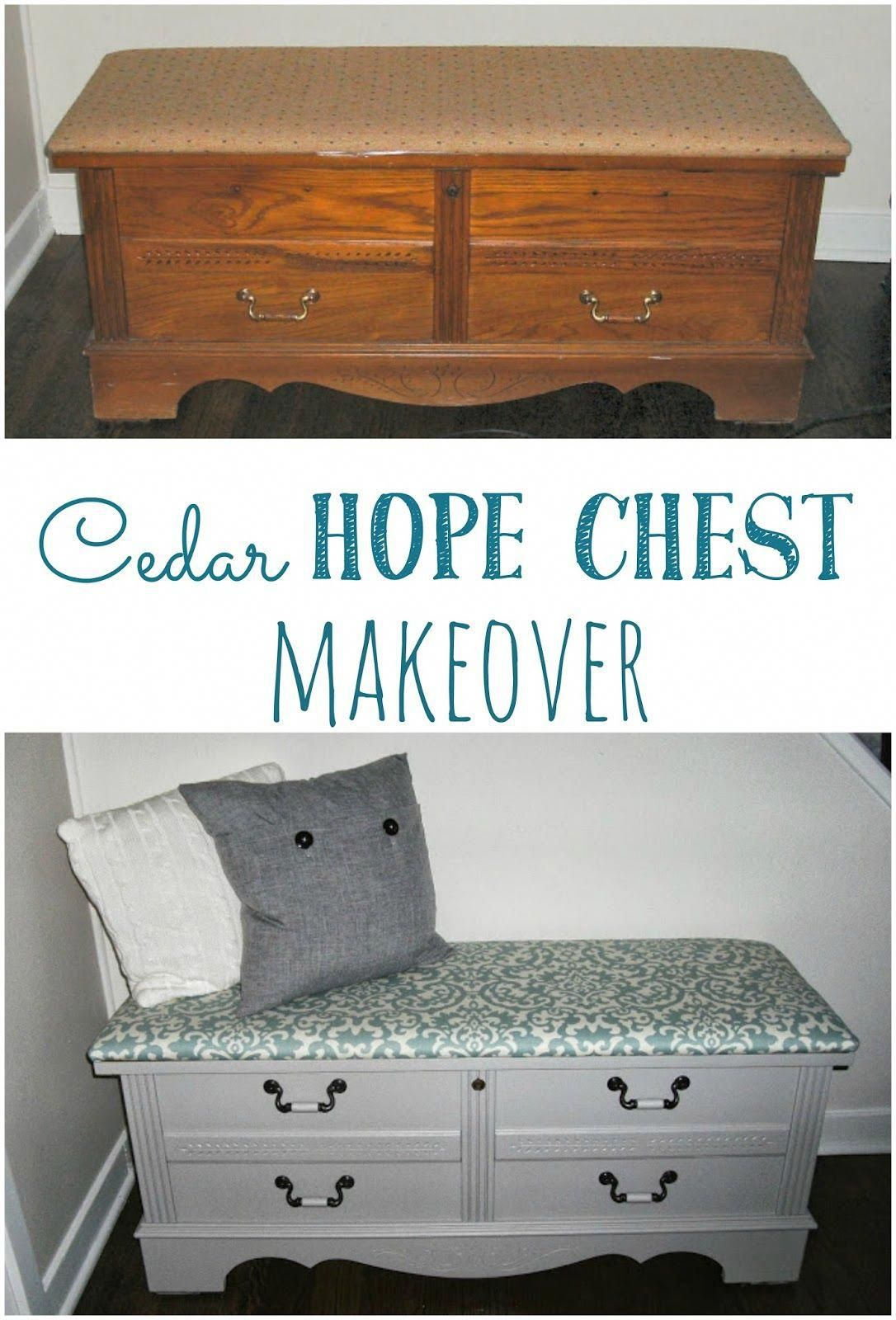 Updating hope chest ideas