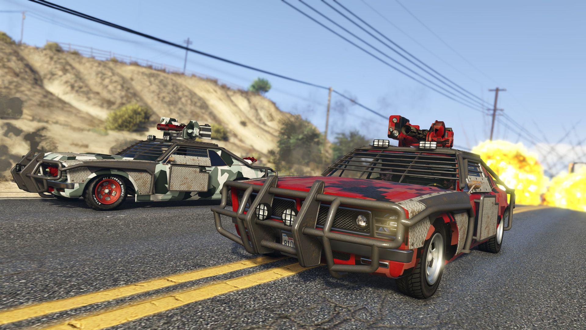 Er komt een enorme update voor GTA Online met bewapende voertuigen
