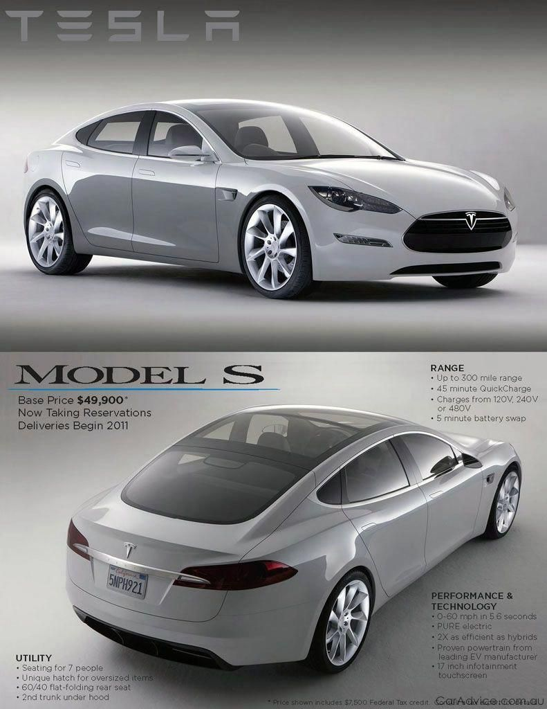 Telsa S Series electric sports carThis is what I want