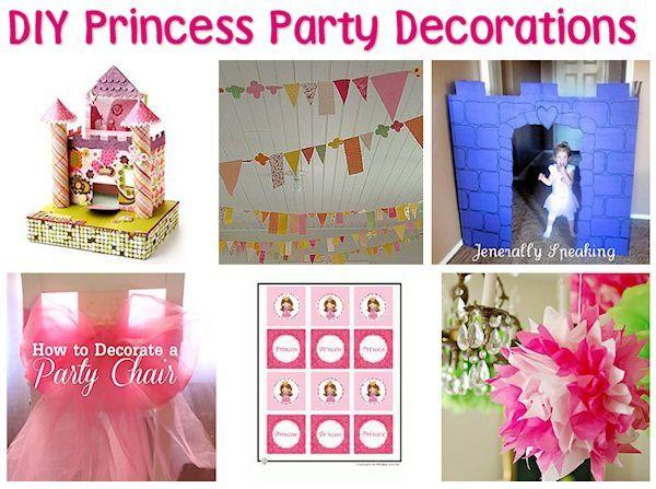 35 DIY Princess Party Ideas