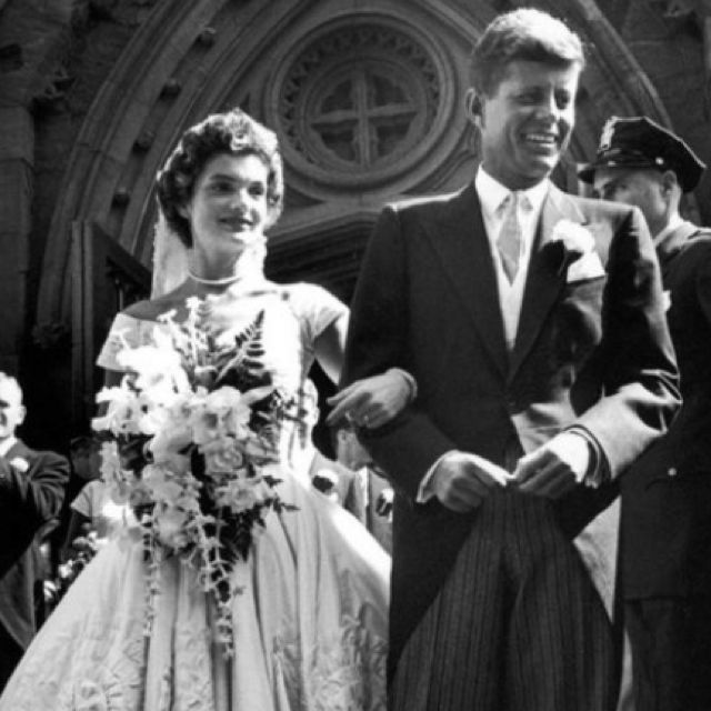 Tricia Nixon Wedding Gown: Jackie Kennedy Wedding, Celebrity