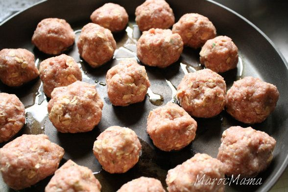 the Grandma's meatballs