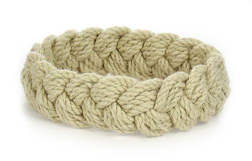 Hemp Sailor Knot Bracelets    Captain Jabbo