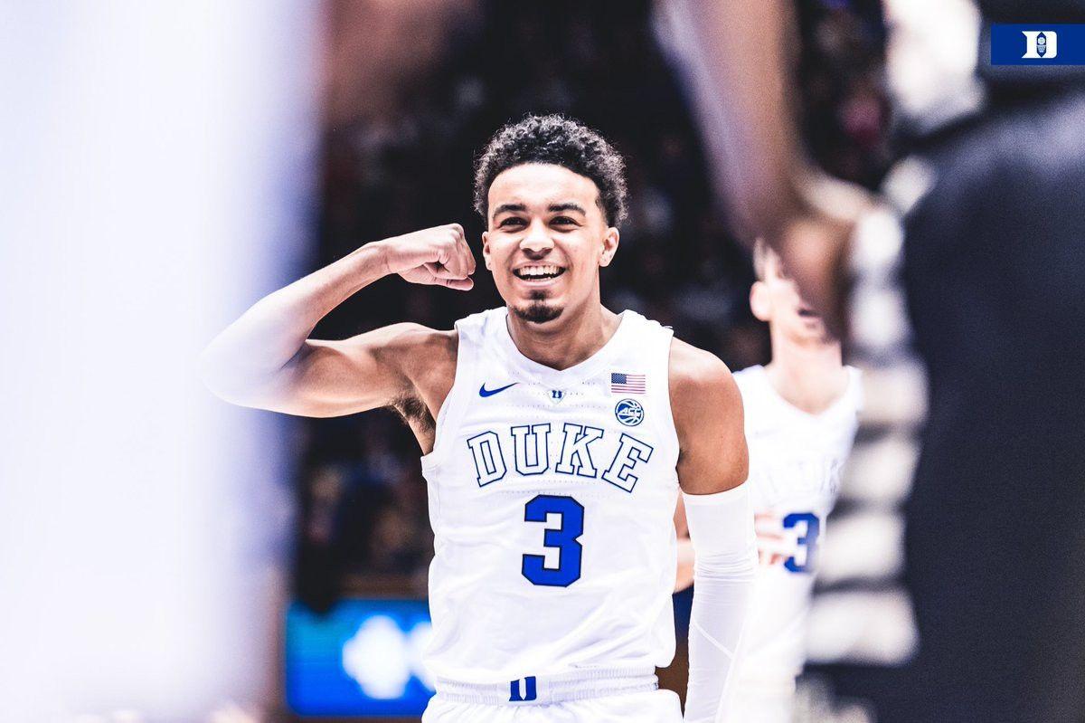 Tre Jones Staying With Duke For Sophomore Season In 2019 2020 Duke Blue Devils Basketball Duke Blue Devils Basketball Players