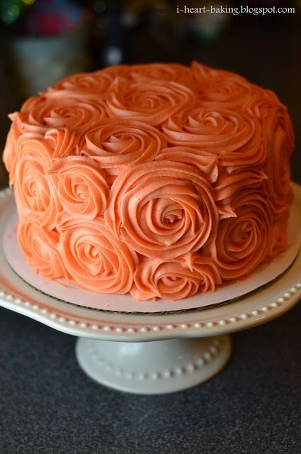 i heart baking!: thanksgiving birthday cake - pumpkin spice layer cake with browned butter cream cheese frosting