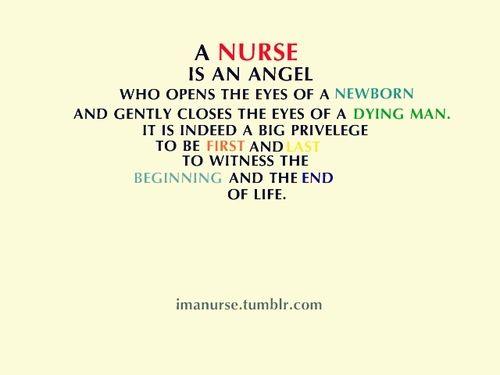 I love being a nurse :)