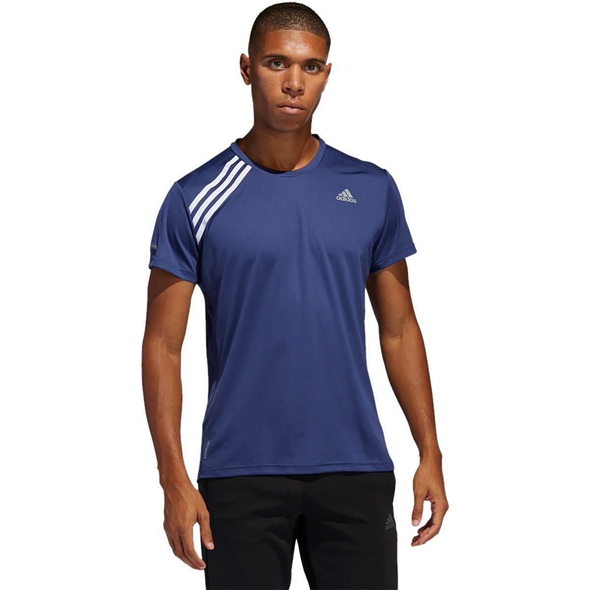 Adidas Own The Run T-Shirt - Men's   Shirts, Mens shirts, Running ...