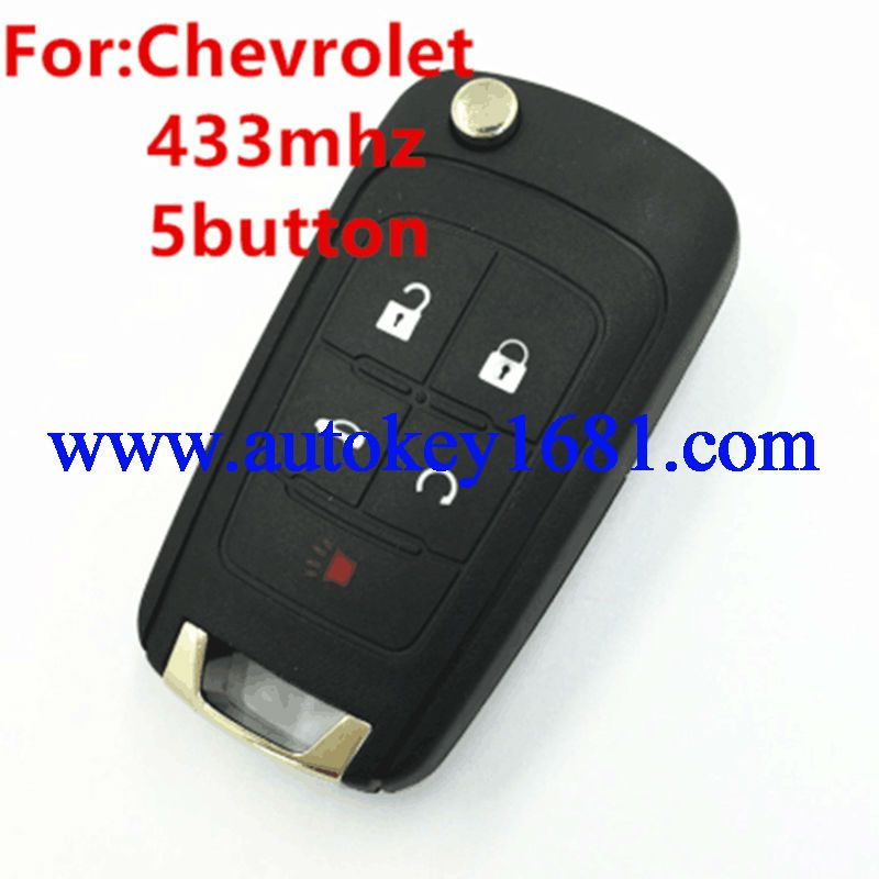 Free Shipping 5Buttons 433mhz Keyless Remote Key Control